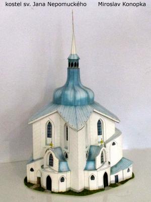 kostel Nepomuk