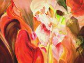 12.Kvitnuca eroticka krajina olej na platne 130x180cm 2014