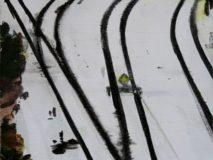 Lipavský - Severní nástupiště
