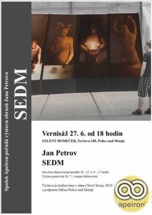 Spolek Apeiron připravil pro milovníky malby bonbónek v podobě výstavy Jana Petrova s názvem Sedm.