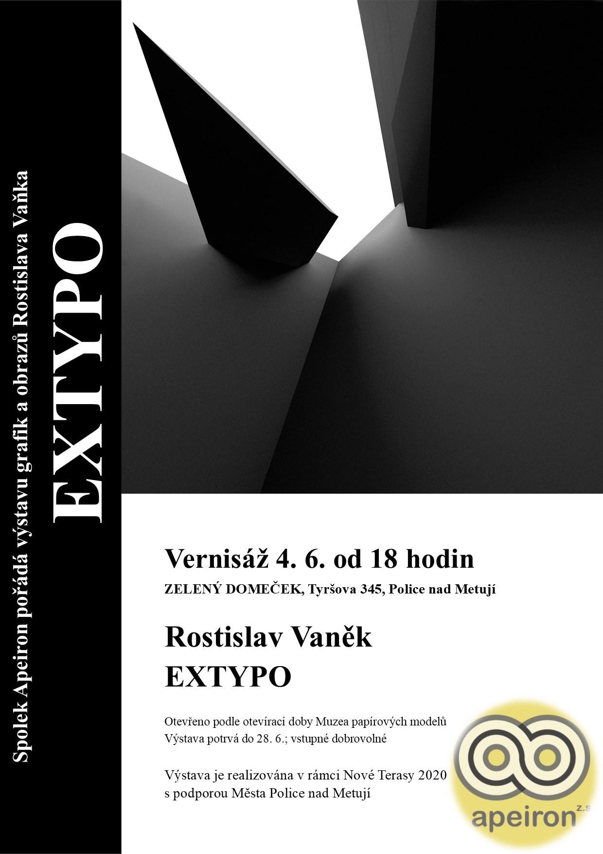 Vaněk plakát Extypo def
